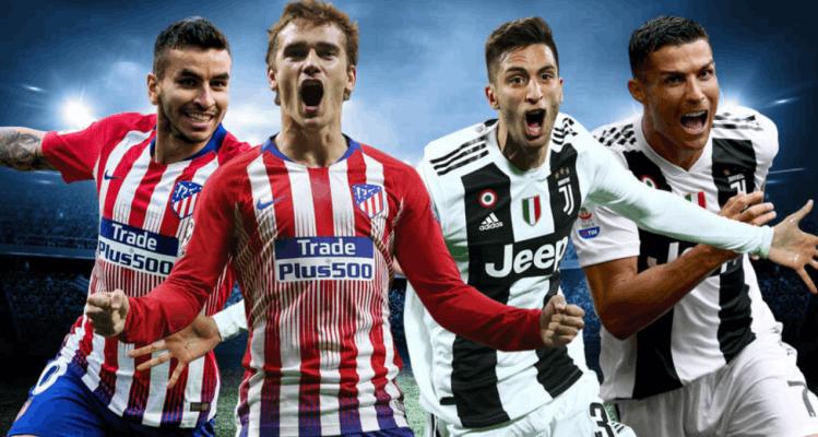 Lịch thi đấu bóng đá ngày hôm nay 20/2/2019: Juventus - Atletico Madrid