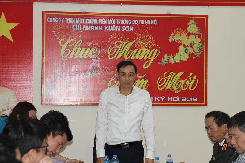 Phó Bí thư Thành ủy Hà Nội Đào Đức Toàn thị sát khu xử lý chất thải rắn Xuân Sơn2