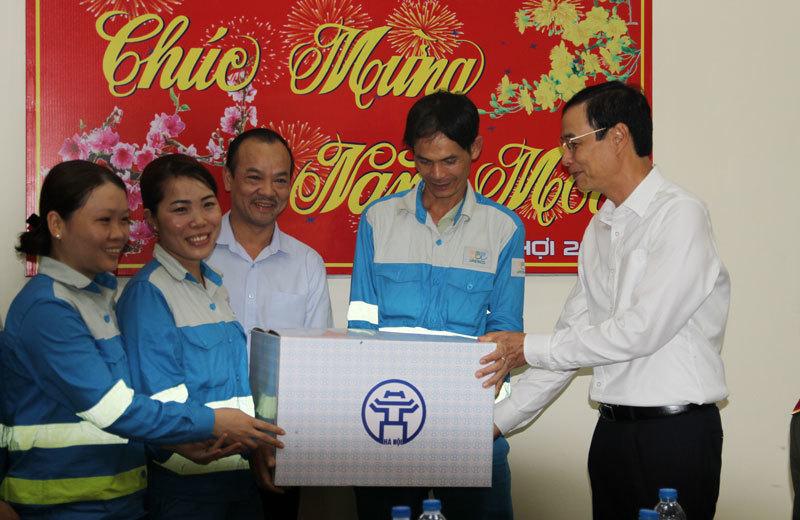 Phó Bí thư Thành ủy Hà Nội Đào Đức Toàn thị sát khu xử lý chất thải rắn Xuân Sơn3