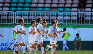 'Thần đồng' Gia Huy tỏa sáng, U19 HAGL thắng đậm trước U19 Bình Định