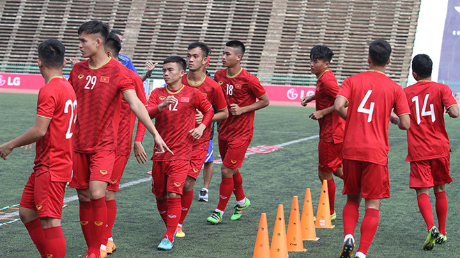 HLV U22 Việt Nam tự tin trước trận quyết đấu với Thái Lan vào chiều nay 21/2.