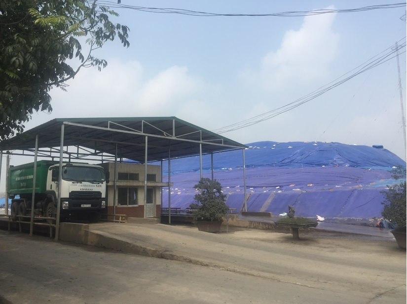 Công ty TNHH MTV Môi trường đô thị Hà Nội chi nhánh Xuân Sơn đang nỗ lực không ngừng vì môi trường Thủ đô.