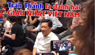 Trường Giang: 'Trấn Thành là danh hài giàu có nhất Việt Nam'
