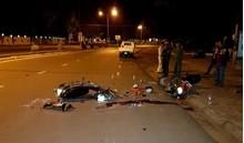 Hải Dương: Hai xe máy va chạm kinh hoàng, 3 người thương vong