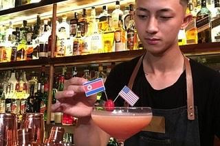Quán bar Hà Nội phục vụ đồ uống đặc biệt chào mừng cuộc gặp Trump-Kim