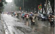 Dự báo thời tiết hôm nay: Hà Nội vừa mưa vừa rét