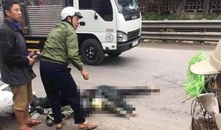 Va chạm với xe máy ngã ra đường, nữ sinh viên bị xe bồn cán tử vong