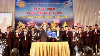 Nhận 20 tỷ đồng, Nam Định đặt mục tiêu top 10 tại mùa giải V.League 2019