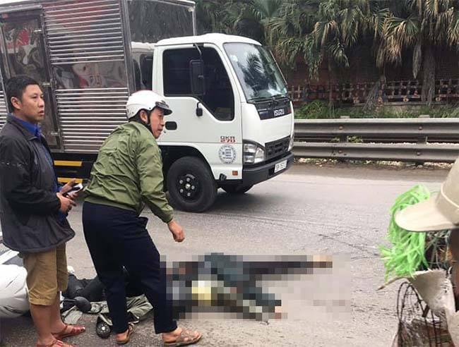 Nữ sinh bị xe bồn cán tử vong ở Hà Nội, đang từ quê lên chăm mẹ