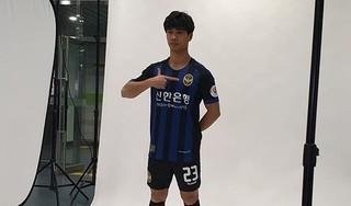 Công Phượng rạng rỡ trong hình ảnh quảng bá của CLB Incheon United
