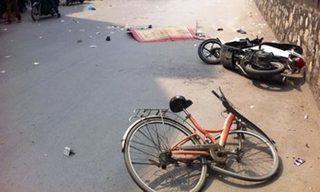Hà Nam: Va chạm với xe máy, người đàn ông đi xe đạp tử vong tại chỗ