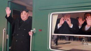 Đoàn tàu bọc thép chở ông Kim Jong Un sắp đến Việt Nam