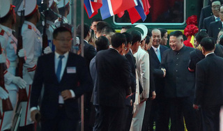 Vừa đến Việt Nam, Chủ tịch Kim Jong Un đã 'cảm ơn Việt Nam'