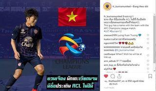 Người Thái đặt niềm tin vào Xuân Trường tại đấu trường AFC Champions League