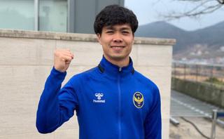 Công Phượng không đặt nặng chuyện ghi bàn ở Incheon United