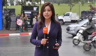 Thêm một nữ phóng viên Hàn Quốc khiến dân mạng 'sục sôi' vì nhan sắc không tì vết