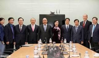 Thủ tướng Nguyễn Xuân Phúc cùng các Bộ trưởng phát động chương trình Sức khỏe Việt Nam