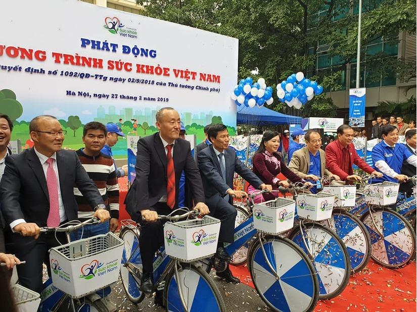 Thủ tướng Nguyễn Xuân Phúc cùng các Bộ trưởng phát động chương trình Sức khỏe Việt Nam 4