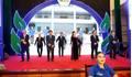 Clip: HLV Park Hang Seo tập thể dục cùng các Bộ trưởng