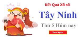XSTN 7/5 - Kết quả xổ số Tây Ninh hôm nay thứ 5 ngày 7/5/2020
