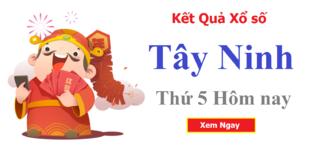 XSTN 20/8 - Kết quả xổ số Tây Ninh hôm nay thứ 5 ngày 20/8/2020