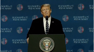 Ông Trump lý giải nguyên nhân không ký kết thỏa thuận chung Mỹ-Triều tại Hà Nội