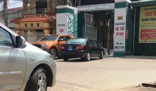 Xuất hiện nhiều xe biển xanh dự đám cưới con lãnh đạo tỉnh Quảng Bình