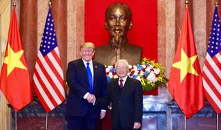 Vừa lên chuyên cơ về nước, ông Trump đã viết lời cảm ơn Việt Nam