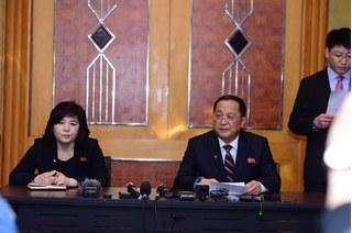 Triều Tiên bất ngờ tổ chức họp báo vào lúc nửa đêm tại Hà Nội
