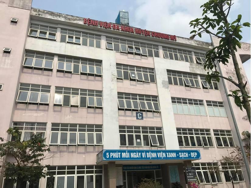 Bệnh viện nơi người đàn ông đến thăm khám