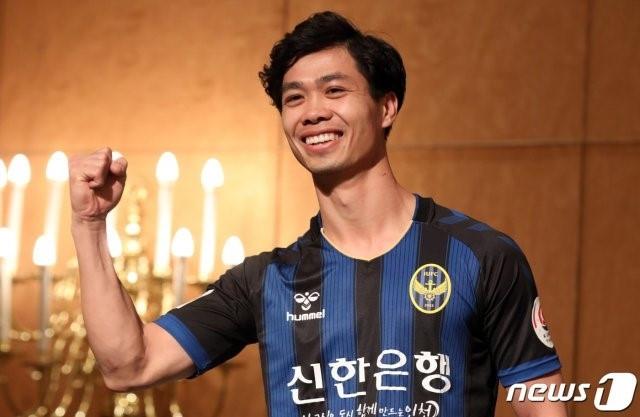 Tiền đạo Công Phượng được kỳ vọng sẽ tỏa sáng tại Hàn Quốc