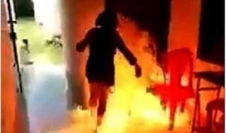 Hải Phòng: Giận bạn gái, người đàn ông đổ xăng lên người dọa tự thiêu