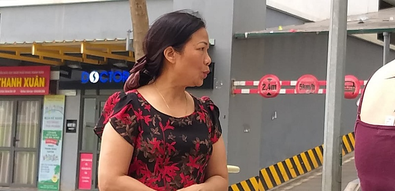 Bà Thúy chia sẻ sự việc với PV