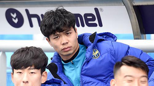 tiền đạo Công Phượng không ra sân ở vòng 1 K.League 2019