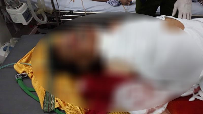 Đối tượng Ba đang cấp cứu tại Bệnh viện Việt Đức