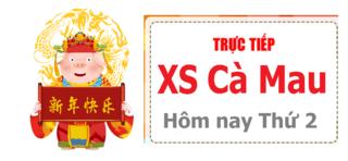 XSCM 25/5 - Kết quả xổ số Cà Mau hôm nay thứ 2 ngày 25/5/2020