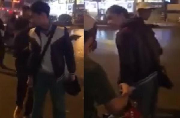 Thanh niên đánh người xong tự xưng công an phường