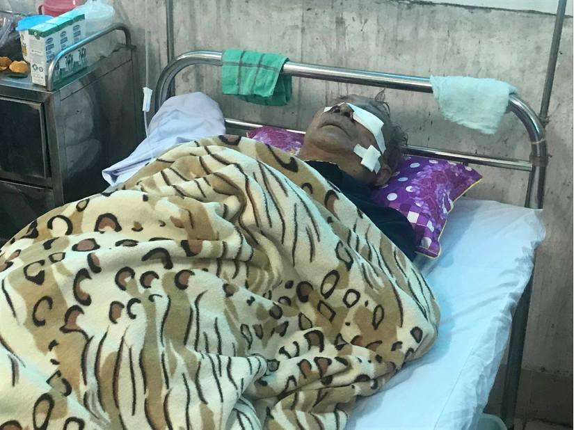 Nạn nhân Đ. hiện tại đã tỉnh nhưng sức khỏe vẫn còn yếu, đang được điều trị tại Bệnh viện Đa khoa tỉnh Nam Định