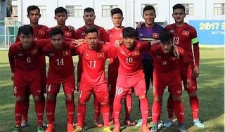 U18 Việt Nam rơi vào