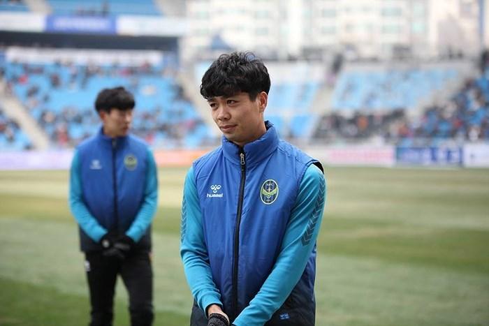 Tiền đạo Công Phượng chưa được ra sân tại K.League