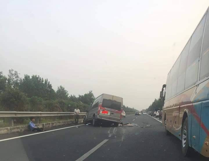 Tai nạn trên cao tốc Pháp Vân - Cầu Giẽ, 3 người thương vong