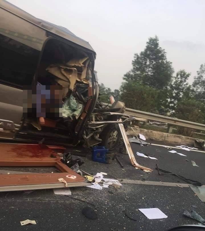 Tai nạn trên cao tốc Pháp Vân - Cầu Giẽ, hai nạn nhân tử vong