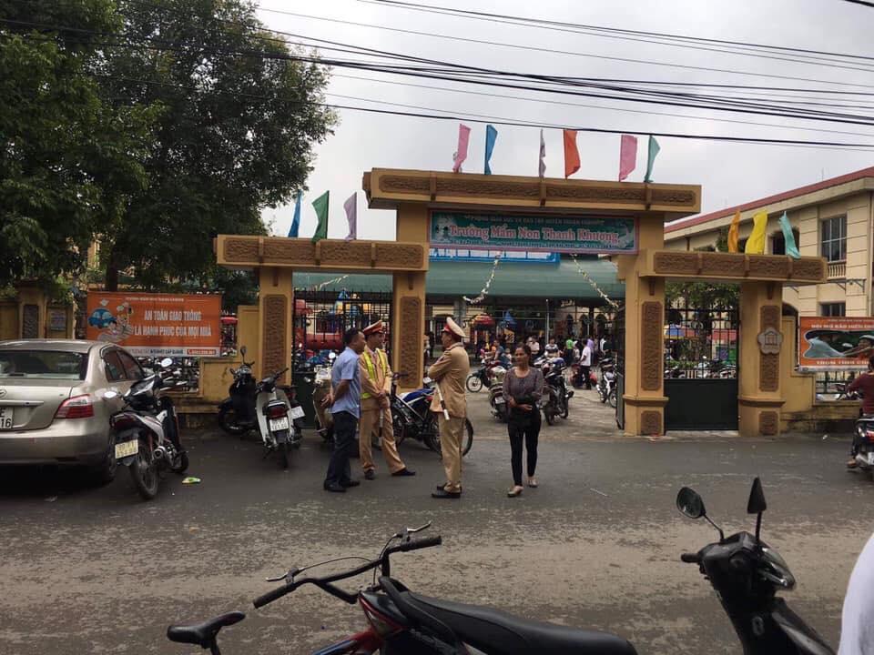 Trường mầm non Thanh Khương bị tố nhập thịt đông lạnh