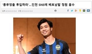 Liên đoàn bóng đá Hàn Quốc làm điều chưa từng có tại K.League vì Công Phượng