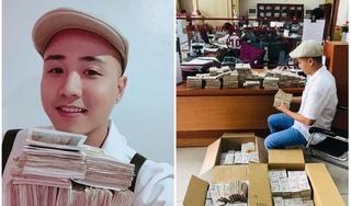 Thanh niên mang 200 triệu tiền lẻ gửi ngân hàng, nhân viên mất cả buổi chiều ngồi đếm