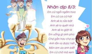 Những lời chúc hài hước, bá đạo nhất dành tặng chị em ngày 8/3