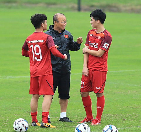Quang Hải được đồng đội tín nhiệm bầu làm đội trưởng U23 Việt Nam