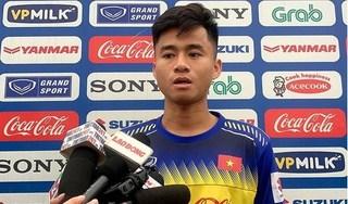 Phan Thanh Hậu thừa nhận gặp áp lực trên tuyển U23 Việt Nam