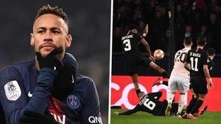 Tiền đạo Neymar đứng trước nguy cơ bị cấm thi đấu 3 trận