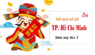 XSHCM 20/6 - Kết quả xổ số TP Hồ Chí Minh thứ 7 ngày 20/6/2020
